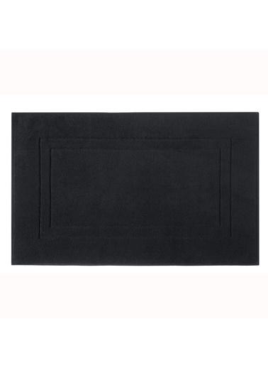 Taç TaÇ Pure Softlex Pamuklu 50X80Cm Basic Desenli Ayak Havlusu Siyah